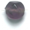 Glass Beads 10mm Facetted Amethyst